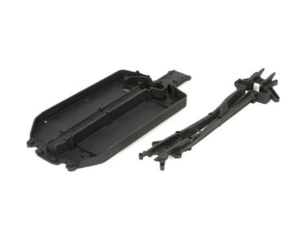 ECX 1/10 4WD Circuit Short Chassis and Upper Deck Set (1) ECX231012