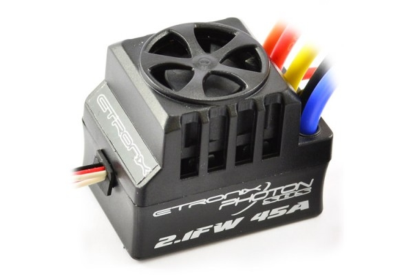 Image Of Etronix Photon 2.1FW 80A Full Waterproof Brushless ESC