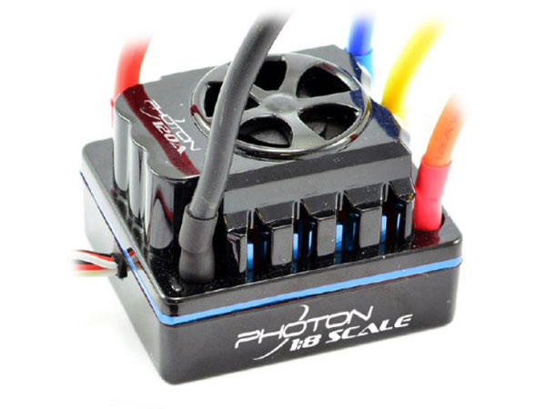Image Of Etronix Photon 1/8 120amp Full Waterproof Brushless ESC
