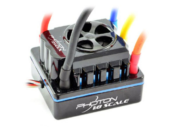 Image Of Etronix Photon 1/8 150amp Full Waterproof Brushless ESC