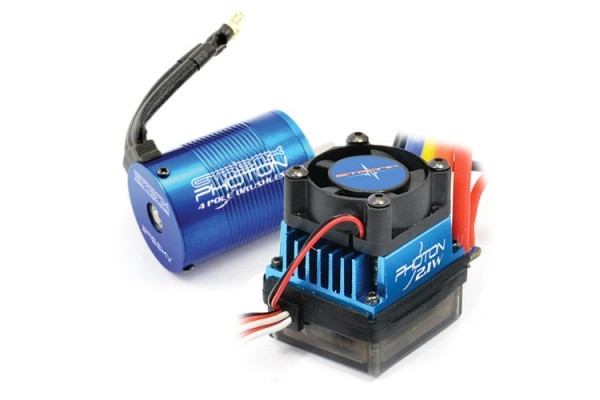 Etronix Photon 2.1W System With 9.0T 4350KV Motor/ 45A ESC ET0412