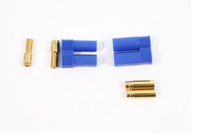 Etronix EC5 5mm Gold Connectors (Male/Female) ET0608