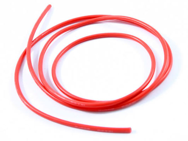 Etronix 12AWG Silicone Wire Red (100cm) ET0670R