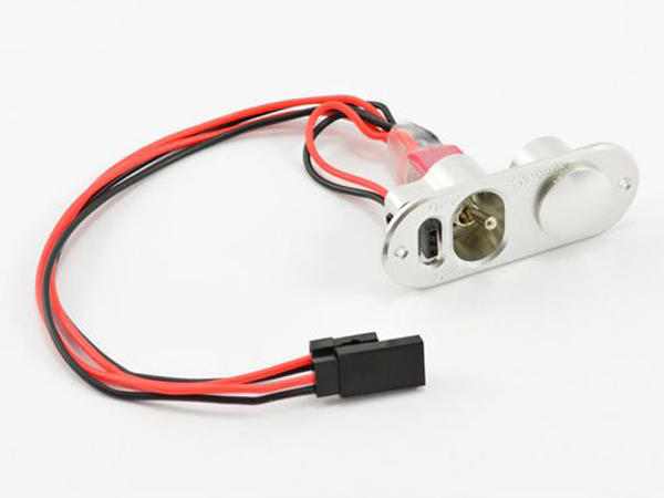 Etronix  Power Switch with Fuel Dot and JR Plug ET0770-3