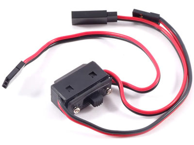 Etronix Futaba 3 Lead Switch Harness ET0779