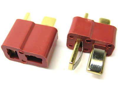 Etronix Deans Plug (1 Male/1 Female) ET0787