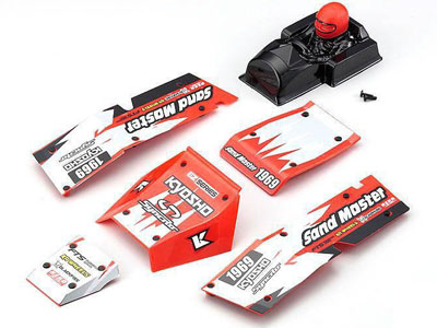 Kyosho Body Parts Set Sand Master 1:10 EP - Red EZ005R