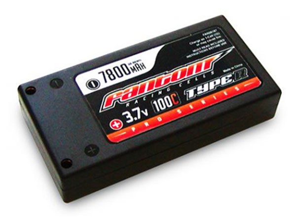 Fantom 1S 3.7v 7800mAh 100C LiPo Battery FAN26187