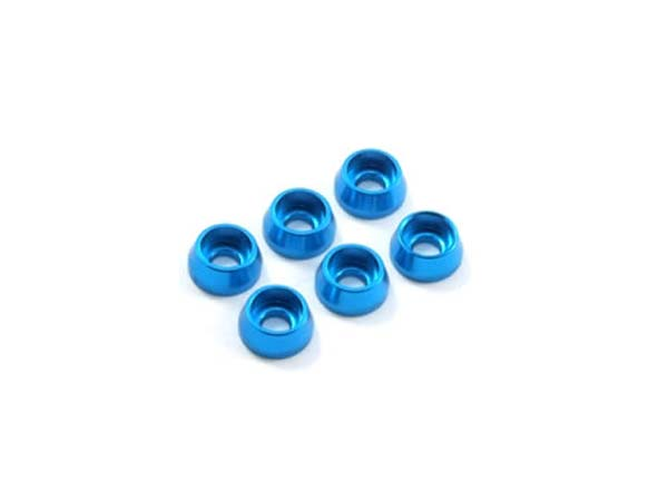 Fastrax M3 Cap Washer - Blue FAST143