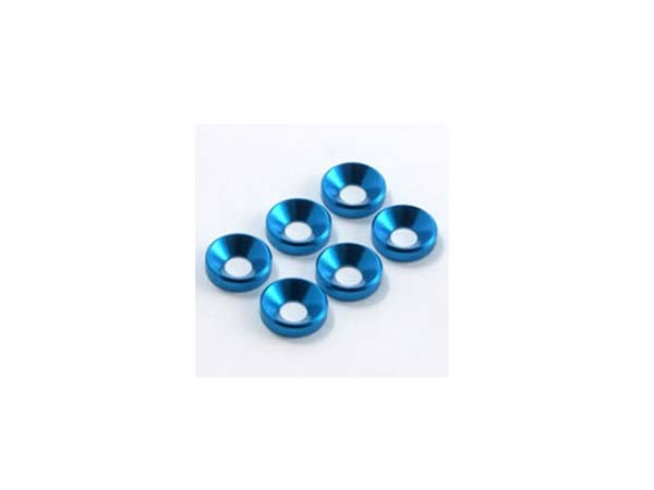 Fastrax M4 Shim Washer (6) - Blue FAST145