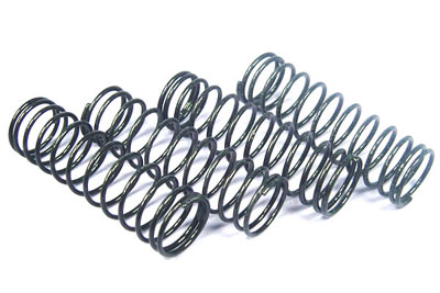 Fastrax 1/10th 70mm Black (Medium) Springs for 95mm Shocks FAST168-M