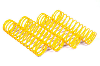 Fastrax 1/10th 45mm Yellow (Soft) Springs for 75mm Shocks FAST166-S
