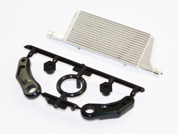 Fastrax RC Drift Front Intercooler w/ Mounts FAST2218