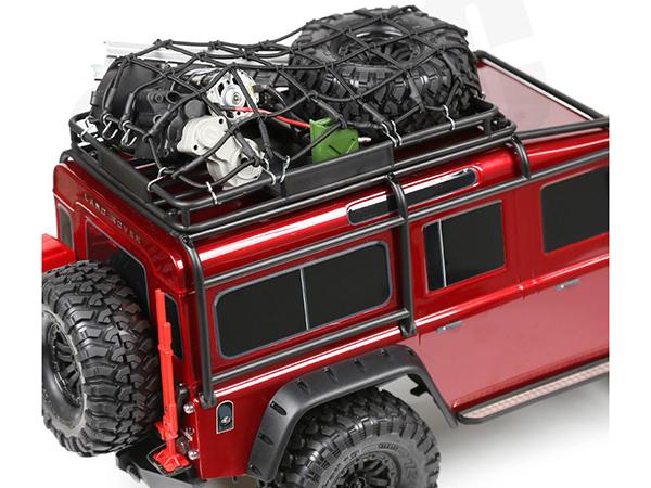 Fastrax Elastic Luggage Net with Hooks 190mm x 110mm (Black) FAST2310BK