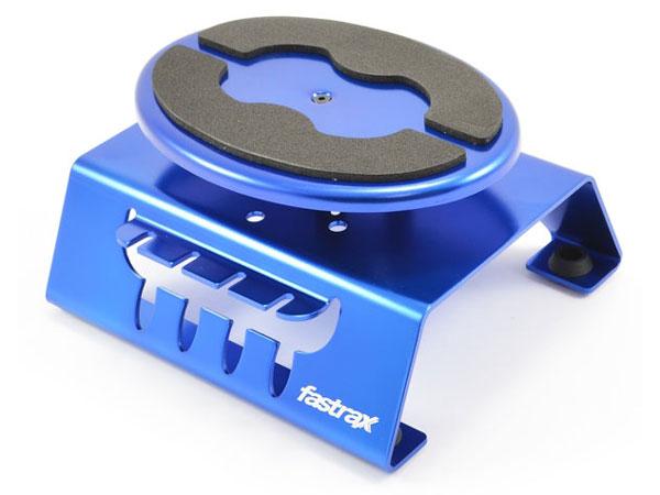 Fastrax Blue Alum Locking Rotating Car Maintenance Stand W