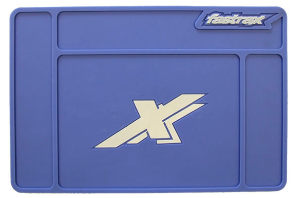 Fastrax All Purpose Small Pit Mat - Blue FAST413S-BL