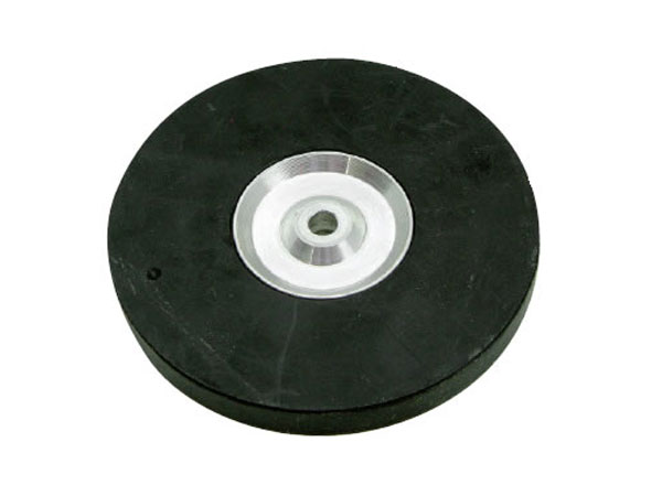 Fastrax Aluminium Rubber Wheel For FAST54/FAST550/A FAST54AW