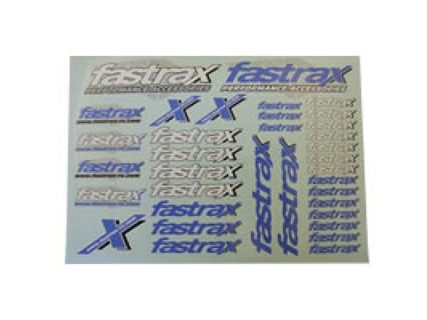 Fastrax 220cmx158mm Decal Sheet FAST91C