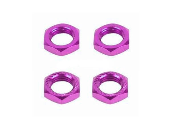 Fastrax 17 x 1.25mm Serrated Wheel Nuts - Purple(4) FAST926P