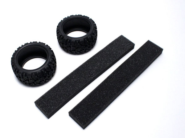 Kyosho Neo Block Tyres With Foam Rage VE (2) FAT301