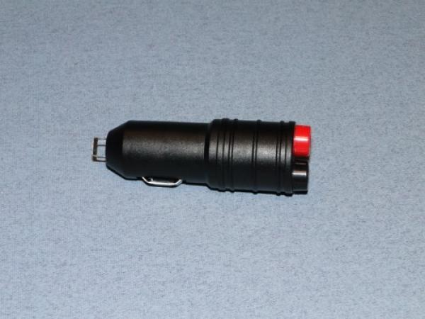 Logic car cigarette lighter to 4mm banana plug adapter 12