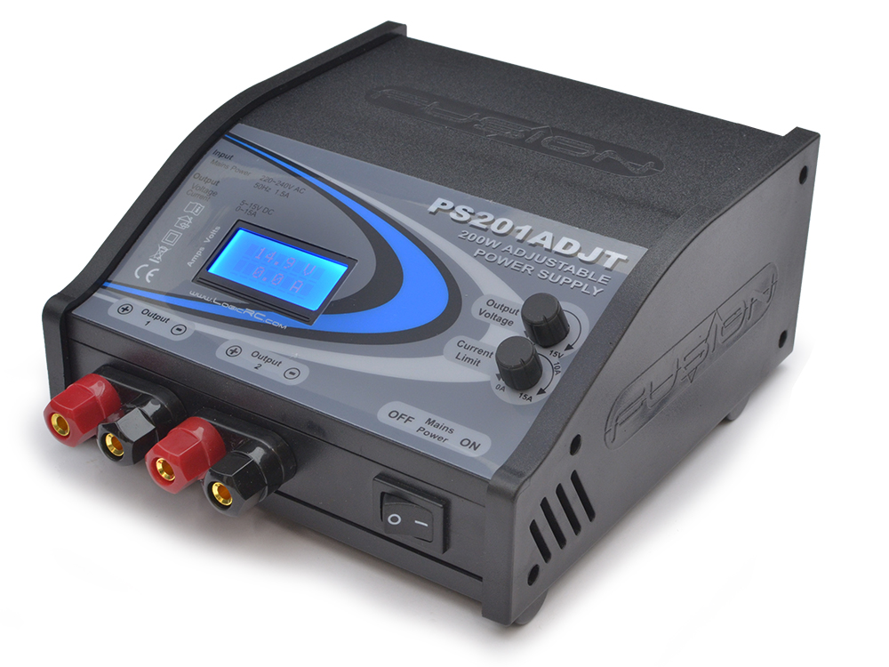Fusion 200W Twin Adjustable Power Supply O-FS-PS201ADJT