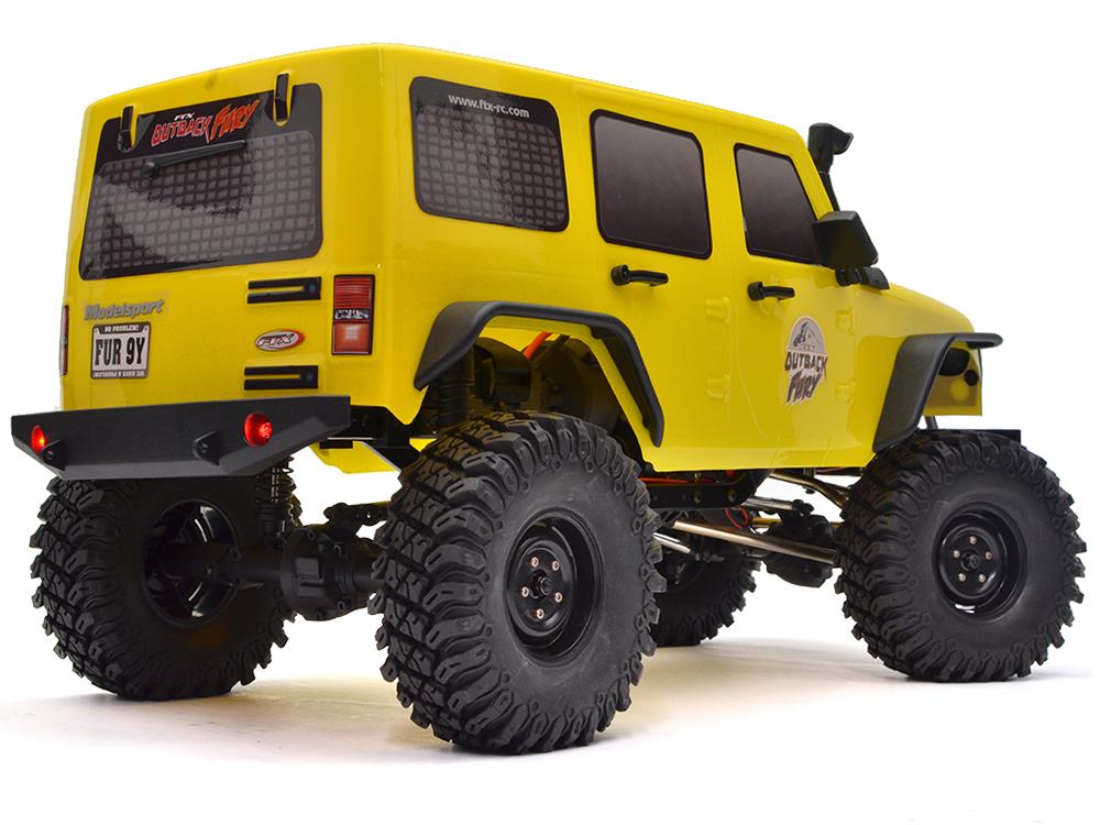 FTX OutBack Fury 4x4 RTR 1:10 Trail Crawler FTX5579