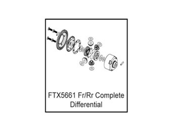 FTX FR/RR Complete Differential FTX5661