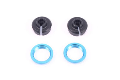FTX Lower Spring Holder And Adjust Rings  (2) - Vantage/ Carnage FTX6212