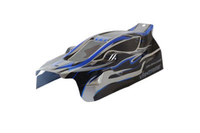 FTX Vantage Printed EP Buggy Body - Black (Brushless) FTX6282