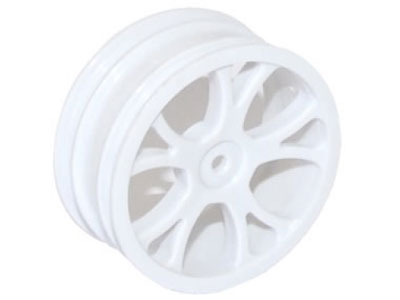 FTX Front Buggy Wheel White - Vantage FTX6305W