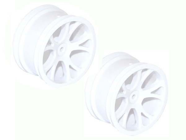 FTX Rear Buggy Wheel White - Vantage FTX6306W