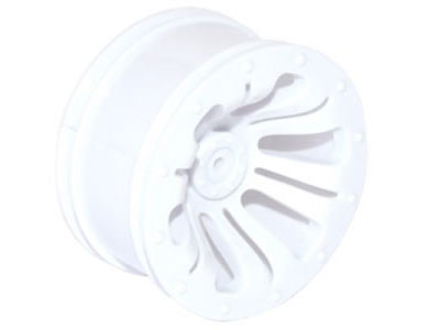 FTX Carnage Wheel 2Pcs - White FTX6315W
