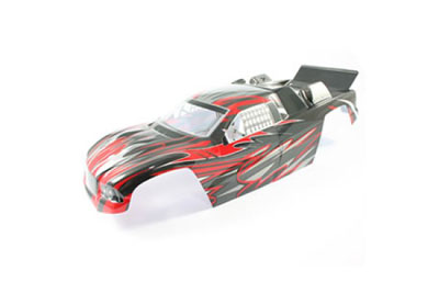 FTX Siege Red Painted Truggy Body FTX6698