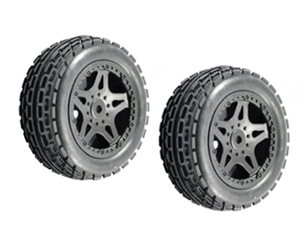 FTX Surge Dune Buggy Front Wheels and Tyres (2) FTX7219