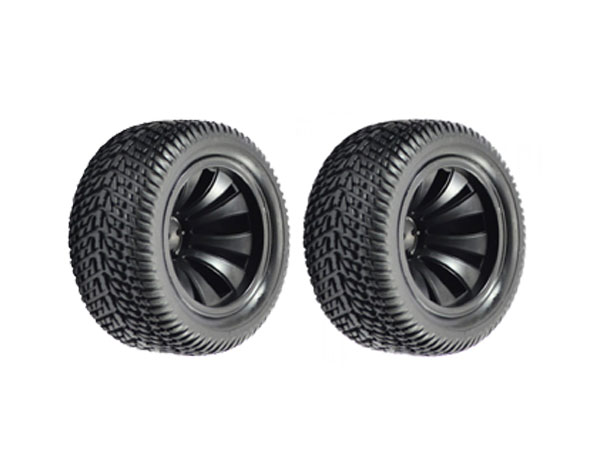 FTX Surge Truggy Wheels and Tyres (2) FTX7227
