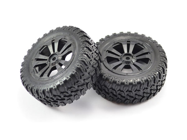 FTX Surge Short Course Mounted Wheels/tyres (pr) FTX7237