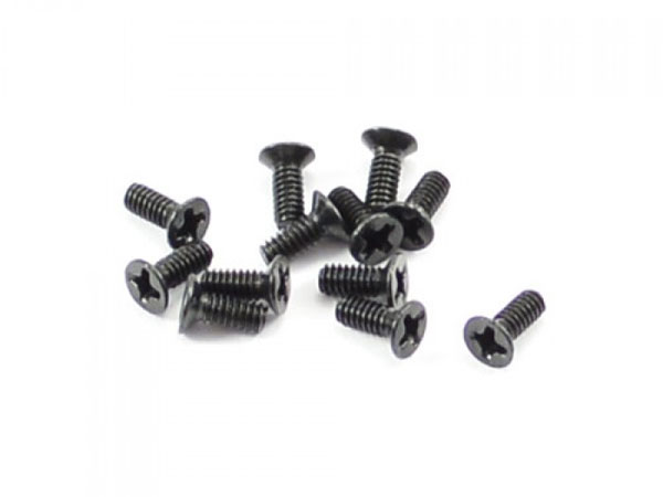 FTX Countersunk Screw 2x5mm (12) FTX7293