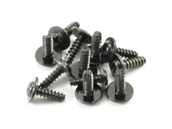 FTX Flange Head Self Tapping Screws 2.6x8mm (12) FTX7294