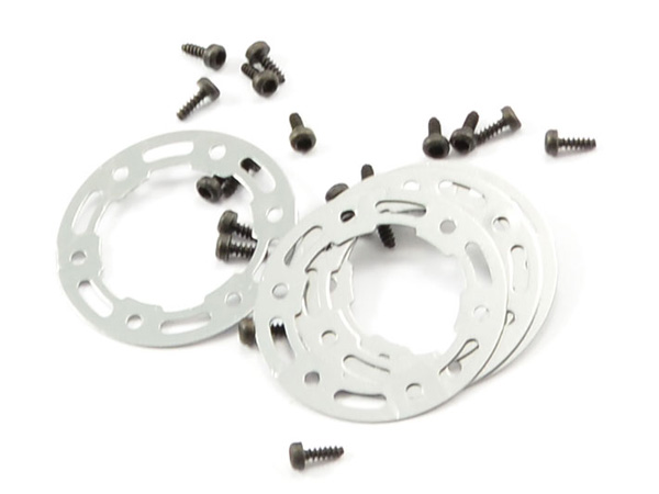 FTX Ibex Aluminium Beadloc Rings with Screws (4) FTX7417