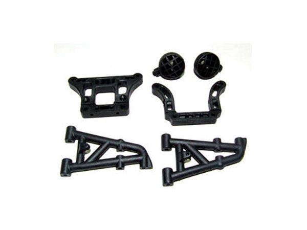 FTX Sidewinder Rear Stays Mount and Light Mounts Set FTX8549