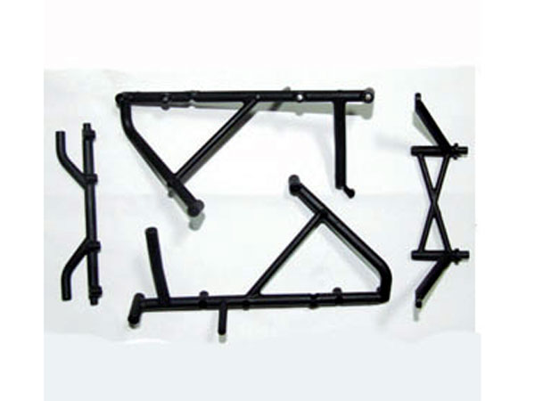 FTX Viper Roll Cage Rear Rails Assembly FTX8660