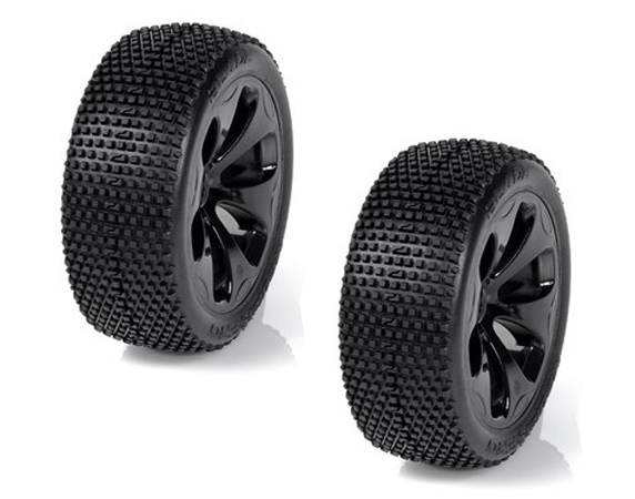 Medial Pro Blade M3 Soft Tyres, SC Raptor 3.3 Wheels (Black) Fr/ Rr Short Course G-MP6335-M3
