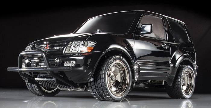 Tamiya Mitsubishi Pajero Black Special - CC-01 Black Painted Body 58627