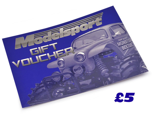 Modelsport UK Gift Voucher 5.00 Value MSV01