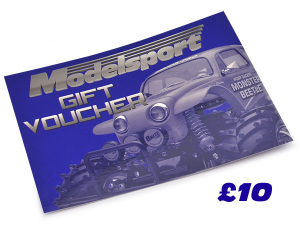 Modelsport UK Gift Voucher 10.00 Value MSV02