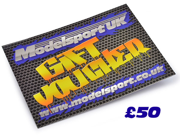 Image Of Modelsport UK Gift Voucher 50.00 Value