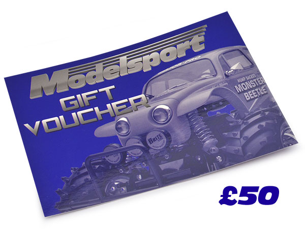Modelsport UK Gift Voucher 50.00 Value MSV04