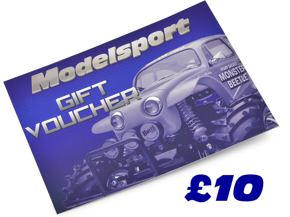 Image Of Modelsport UK Gift Voucher 10.00 Value