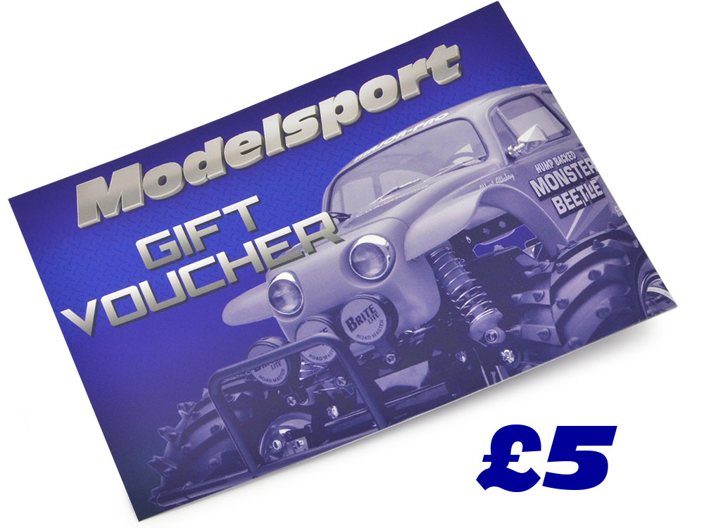 Image Of Modelsport UK Gift Voucher 5.00 Value